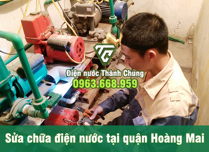 Thợ Sửa máy bơm nước tại Hà Nội tay nghề giỏi