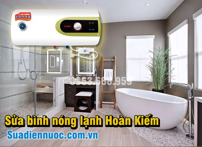 Sửa bình nóng lạnh tại quận Hoàn Kiếm