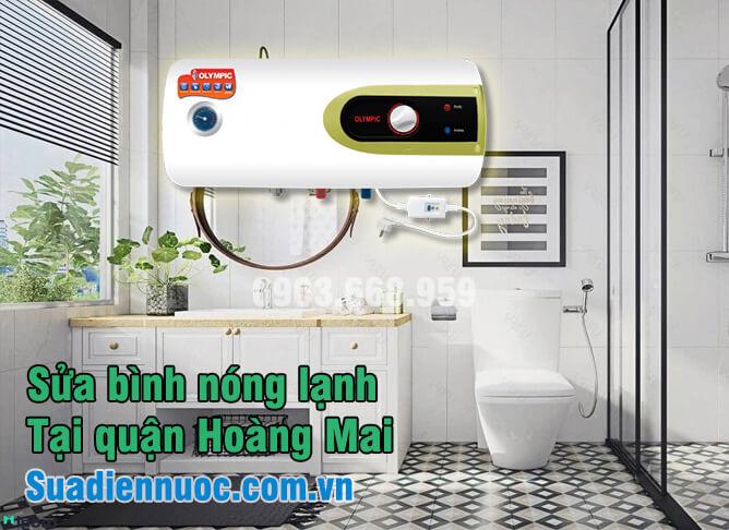Sửa bình nóng lạnh tại quận Hoàng Mai