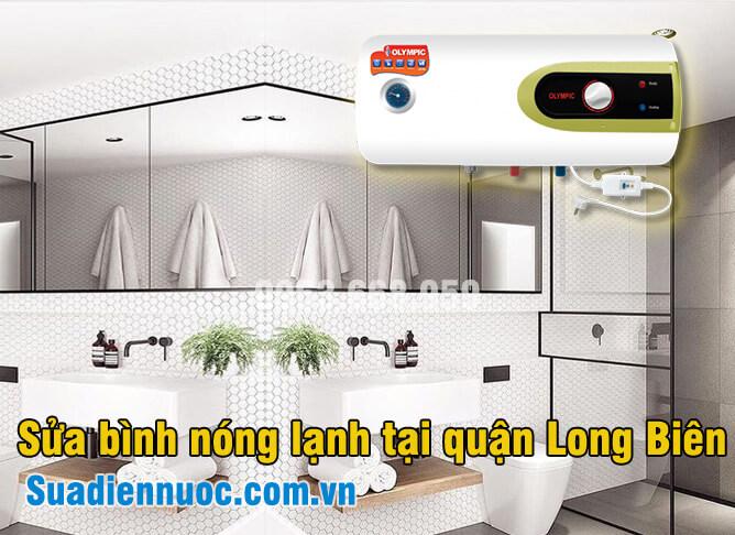 Sửa bình nóng lạnh tại quận Long Biên, thợ có mặt sau 10 phút